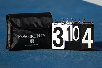 With Case EZ Score Tennis Scorekeeper 6 Game Set